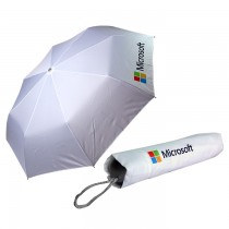 21'' Classic 3 Folding Advertising Umbrella