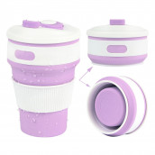 350ML Silicone Collapsible Coffee Cup