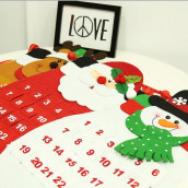 Christmas Countdown Wall Calendar