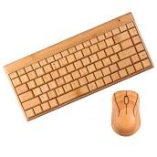 Mini Bamboo Keyboard Set