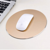 Aluminum Alloy Round Mouse Pad