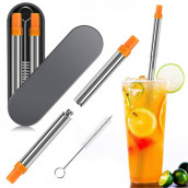 Collapsible Stainless Steel Straw