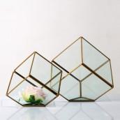 Geometric Glass Terrariums