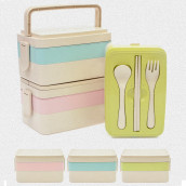 300ML Wheat Straw Lunchbox