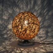 Twine Rattan Table Lamp