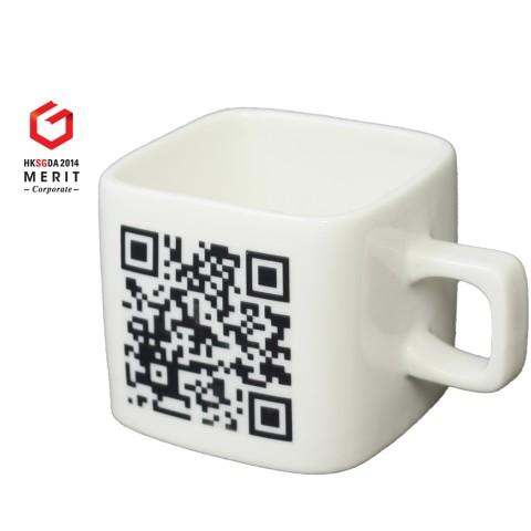 QR Mug, Ceramic Mug