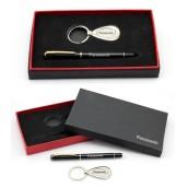 Business Metal Keychain Pen Set