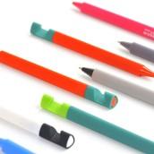 Gel-Ink Pen with Phone Holder
