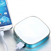 Dual Rechargeable Battery Charger With Power