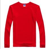 Pure Color Long Sleeve Polo Shirt