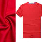 Quick-dry V-neck T-shir