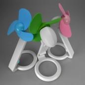 Folding Mini Electric Fan