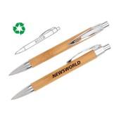 Bamboo Barrel Promotional Pen
