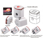 Travel Adapter with USB Port