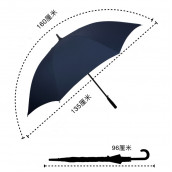 Golf Light Advertising Umbrella