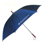 23''  Auto Open Straight-rod Promotional Umbrella - Solid