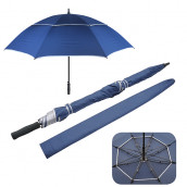 27'' Double Sided Anti-wind Golf Umbrella
