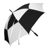 30'' Checked Windproof Straight-rod Gift Umbrella - Automatic Opening