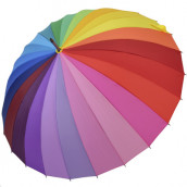 24 Colors Straight Umbrella