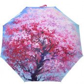 Color 21-inch Three-folding Umbrella