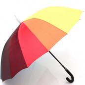 Storage Straight Colorful Umbrella
