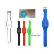 Silicone Touch Screen Watch