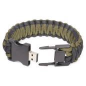 USB Drive Paracord Bracelet