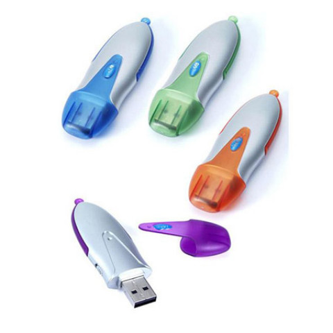Bullet pen USB Flash Memory, Plastic USB Flash Drive