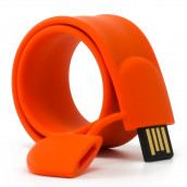 Slap Silicon Bracelet USB Flash Drive