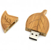 Wooden Leaf USB